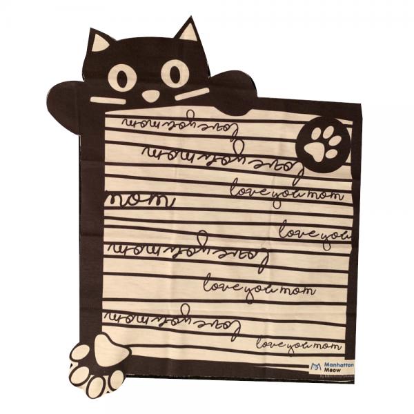 Cat Mom Scarf Set
