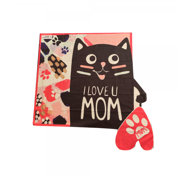 I Love You Mom Small Scarf